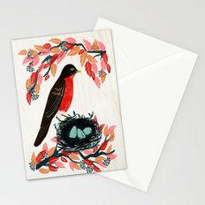 Robin's Nest by Andrea Lauren  Stationery Cards