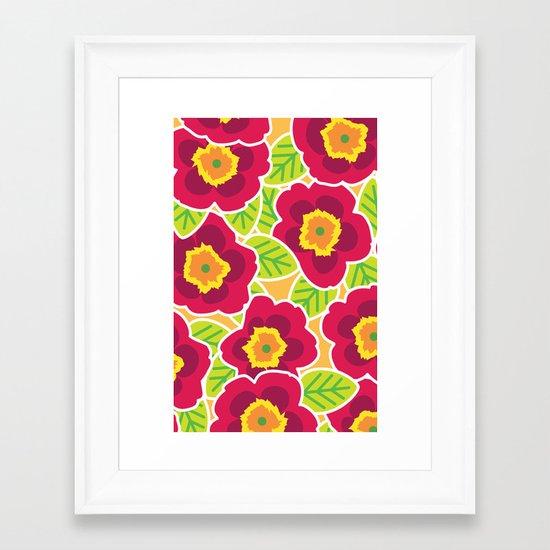 Primrose Collection 3 Framed Art Print