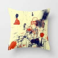 Oh Frank You Did It Agai… Throw Pillow