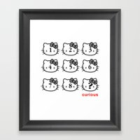 8 Lives And Counting Framed Art Print