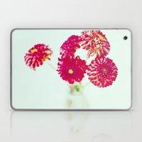 Pom Pom Dahlias Laptop & iPad Skin