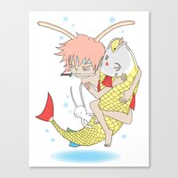 安寧 HELLO - FISHING E… Canvas Print