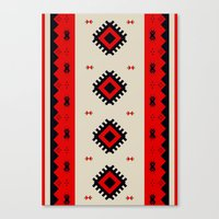 Romanian Pattern Canvas Print