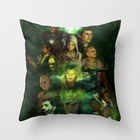 The Inquisition Throw Pillow