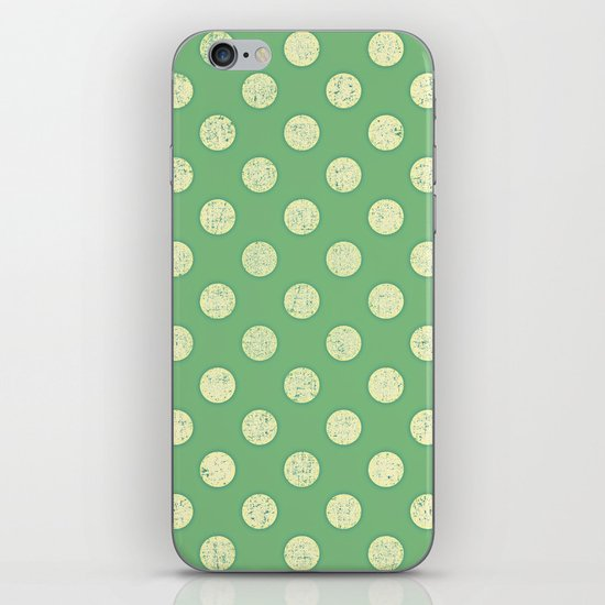 Vintage Dots iPhone & iPod Skin