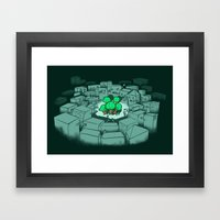 Save The Forest Framed Art Print