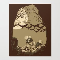 Woodland wars Canvas Print