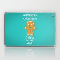 Gingerbread Laptop & iPad Skin