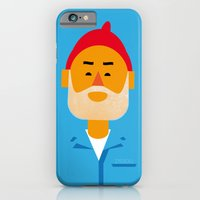 iPhone & iPod Case featuring Steve Zissou by Marco Recuero