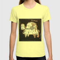 turtle Womens Fitted Tee Lemon SMALL