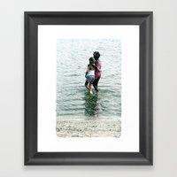 Sisters. Framed Art Print