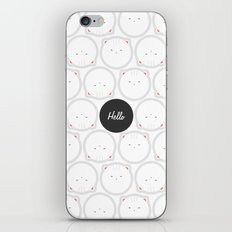 Hello Pets no.3 iPhone & iPod Skin