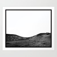 Sleeping Volcano... Art Print