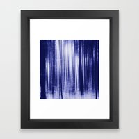 Indigo Woods Framed Art Print