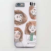 iPhone & iPod Case featuring Hello winter by noudi