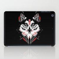 American Indian wolf iPad Case