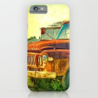 iPhone & iPod Case featuring Old Rusty Bedford Truck by Wendy Townrow