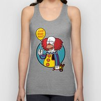 Krustywise the Clown Unisex Tank Top