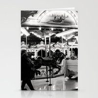 Navy Pier's Carousel at Night Stationery Cards