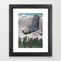 Collage No. 58 Framed Art Print