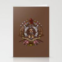 Murray Crest Stationery Cards