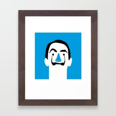 Salvador Domingo Felipe Jacinto Dalí i Domènech Framed Art Print