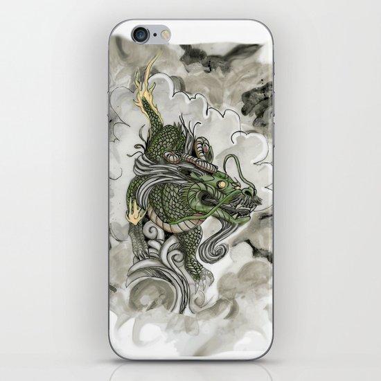 Dragon of The Mist iPhone & iPod Skin