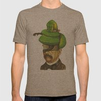 Guerrero Verde  Mens Fitted Tee Tri-Coffee SMALL