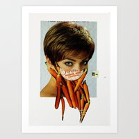 Die Gemüsefrau 2 Art Print