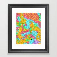 Mr. Robot Framed Art Print