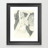 Pomegranate - Sketchbook Edition Framed Art Print