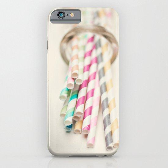 Retro Straws I  iPhone & iPod Case