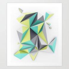 TRIANGLES//02 Art Print