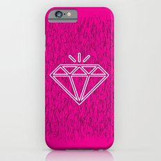 diamond magenta iPhone 6 Slim Case