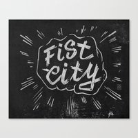 Fist City Canvas Print