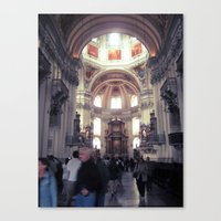 St. Peter's Church (Austria) Canvas Print