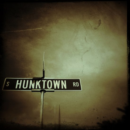 Welcome to Hunktown Art Print