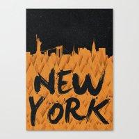 New York (Feat. Filipe R… Canvas Print