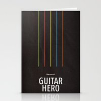 Harmonix's Guitar Hero Stationery Cards