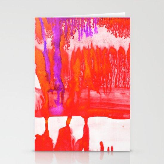Dip Dye Tangelo Stationery Card