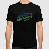 Re-Pete Seahawks! Mens Fitted Tee Black SMALL