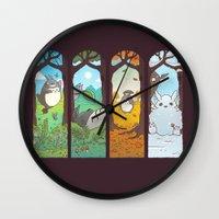 Spirit of the seasons Wall Clock