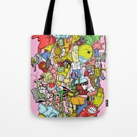 end of the world party Tote Bag