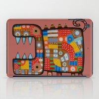 Dog hippo iPad Case