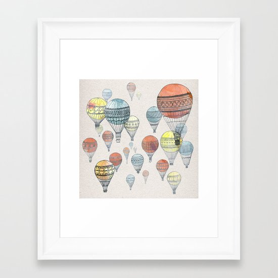 Voyages Framed Art Print