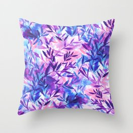 Throw Pillow - Changes Purple - Jacqueline Maldonado