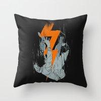 Fall Effect Throw Pillow