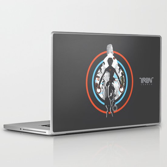 Tron Legacy Laptop & iPad Skin