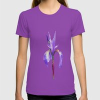 Iris Womens Fitted Tee Ultraviolet SMALL