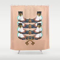 Forbidden Zone Shower Curtain